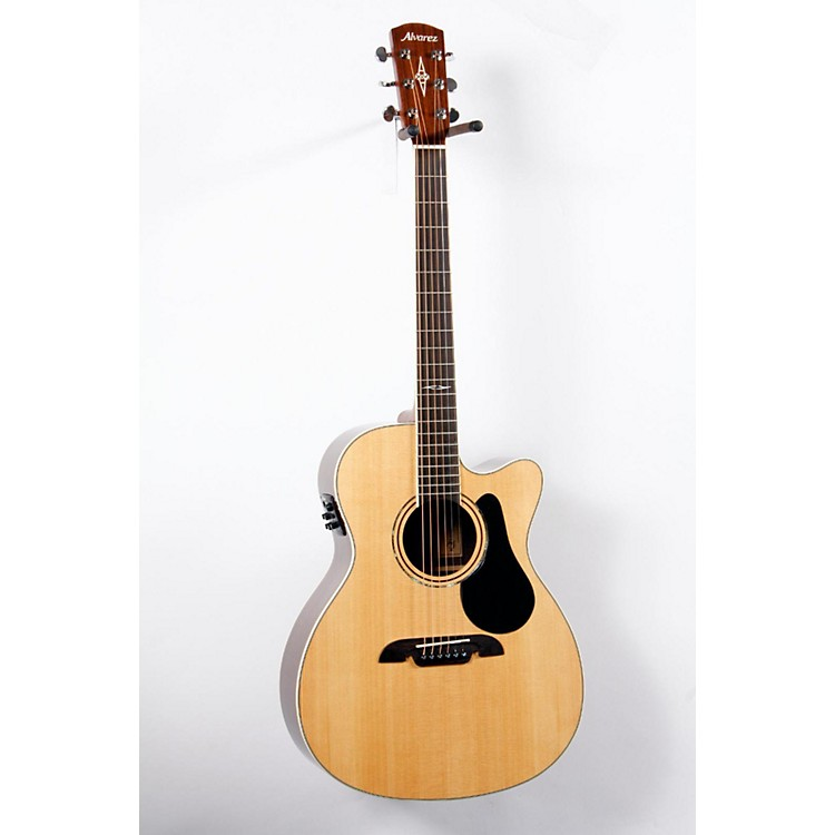 Alvarez Artist Series AF70CE Folk Acoustic-Electric Guitar Natural 888365698199