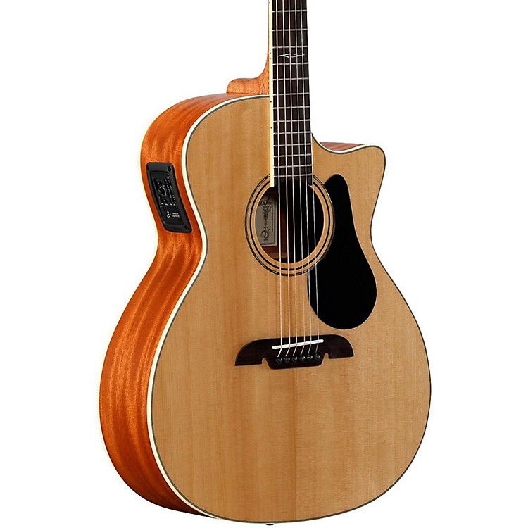 Alvarez Artist Series AG60CE Grand Auditorium Acoustic-Electric Guitar Natural