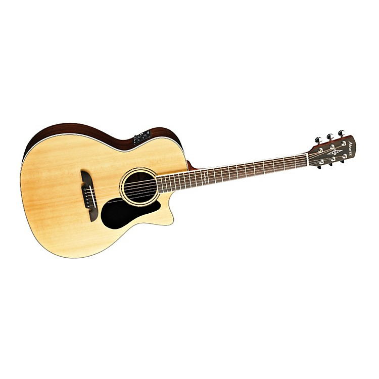 Alvarez Artist Series AG710CE Grand Auditorium Cutaway Acoustic-Electric Guitar Natural