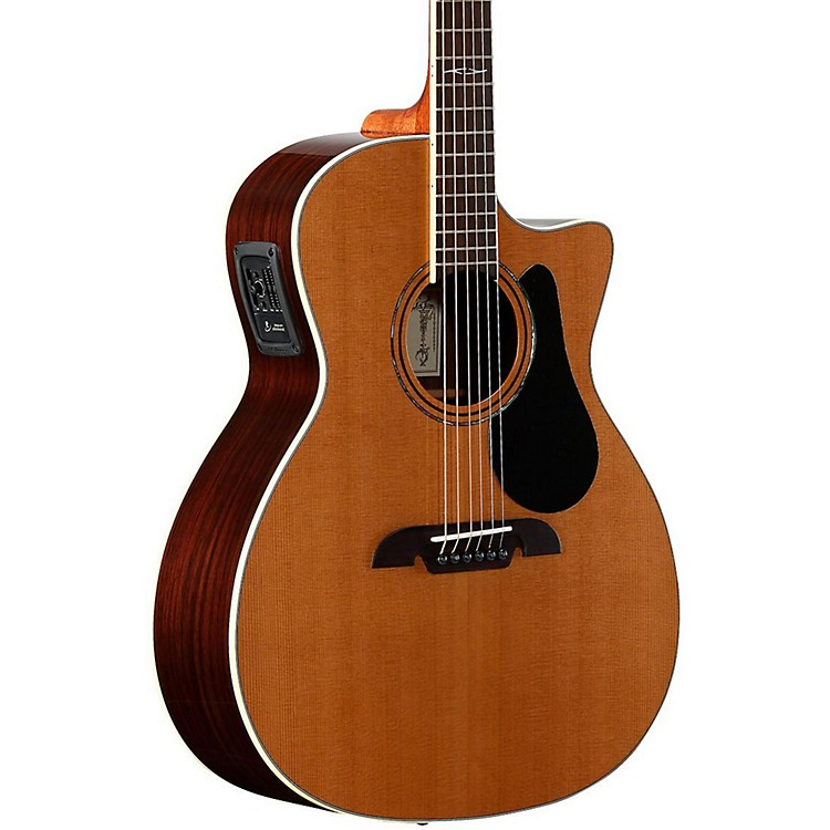 Alvarez Artist Series AG75CE Grand Auditorium Acoustic-Electric Guitar Natural