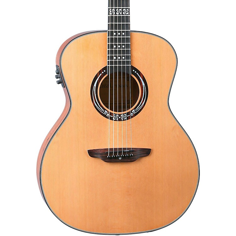 Luna Guitars Artist Series Craftsman All Solid Wood Grand Auditorium Acoustic-Electric Guitar Koa