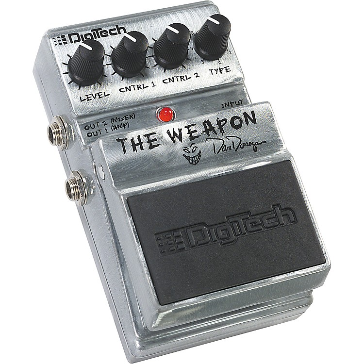 DigiTech Artist Series Dan Donegan The Weapon Guitar Multi Effects Pedal