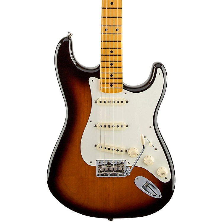 Fender Artist Series Eric Johnson Stratocaster Electric Guitar 2-Color Sunburst Maple Fretboard