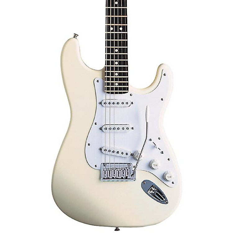 FenderArtist Series Jeff Beck Stratocaster Electric GuitarOlympic White