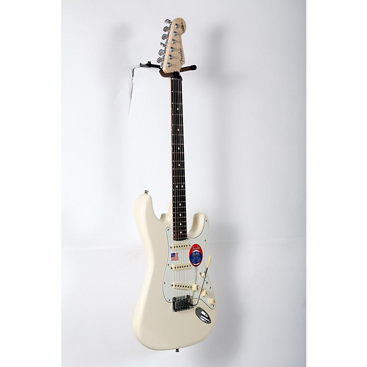 Fender Artist Series Jeff Beck Stratocaster Electric Guitar Olympic White 888365904009