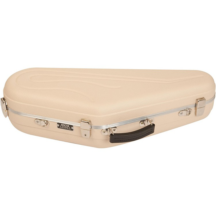 Hiscox Cases Artist Series Tenor Saxophone Case Ivory Shell with Silver Interior