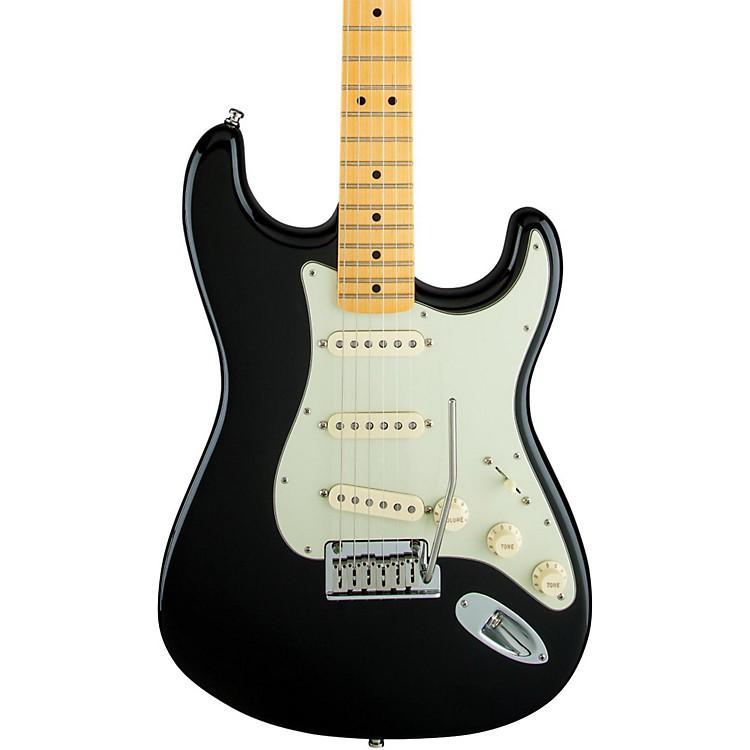 FenderArtist Series The Edge Strat Maple Fingerboard Electric GuitarBlack
