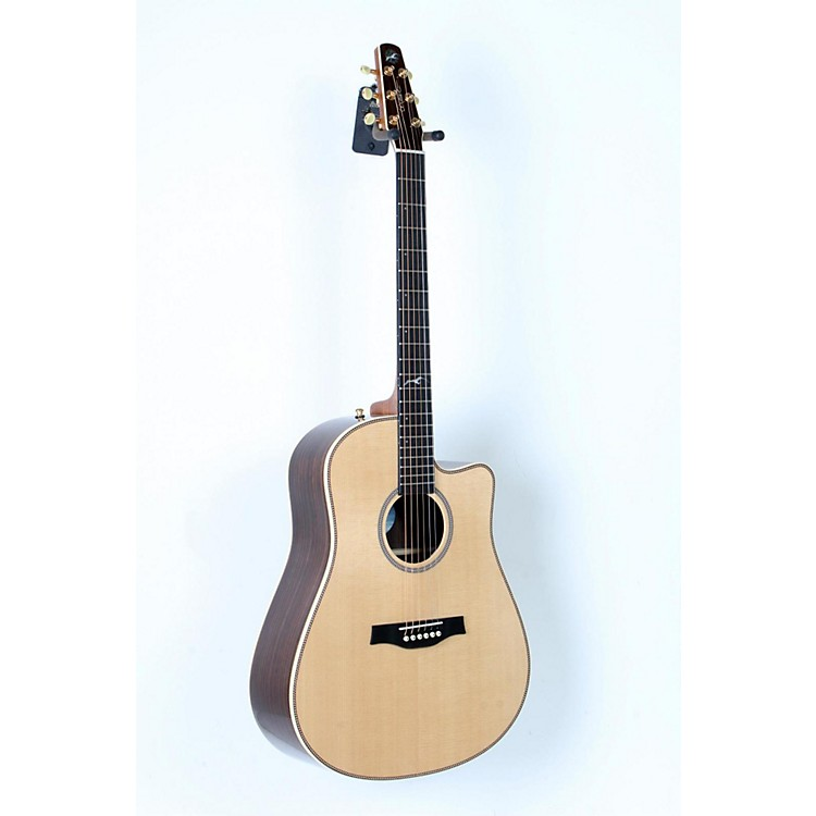 Seagull Artist Studio Deluxe CW Acoustic-Electric Guitar Natural 888365742816