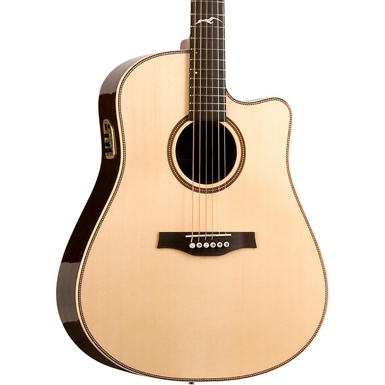 Seagull Artist Studio QII Cutaway Acoustic Electric Guitar