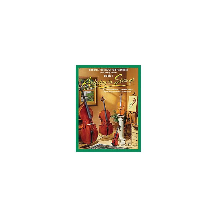 KJOSArtistry In Strings Book 1/CD Viola Book