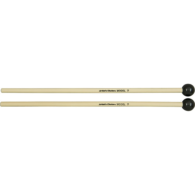 Grover Pro Artist's Choice Solo Glock / Bell Mallets 7/8 in. Black Phenolic