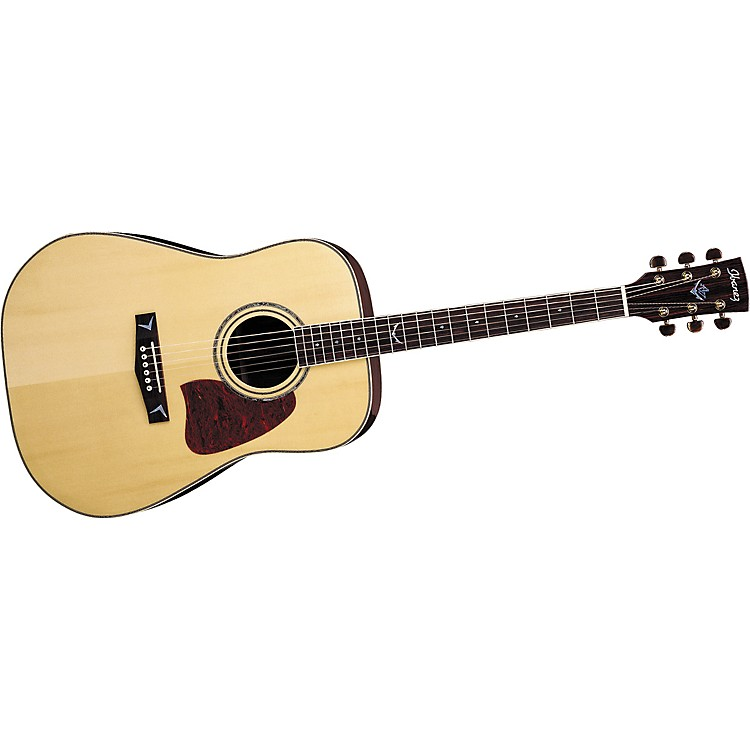 IbanezArtwood AW300NT Solid Top Dreadnought Acoustic Guitar