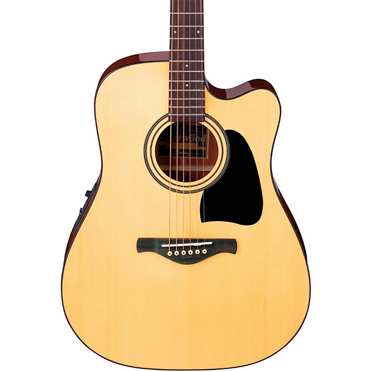 IbanezArtwood Series AW50ECE Solid Top Dreadnought Acoustic-Electric Guitar