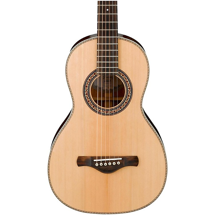 Ibanez Artwood Vintage AVN3NT Spruce/Mahogany Parlor Acoustic Guitar Natural
