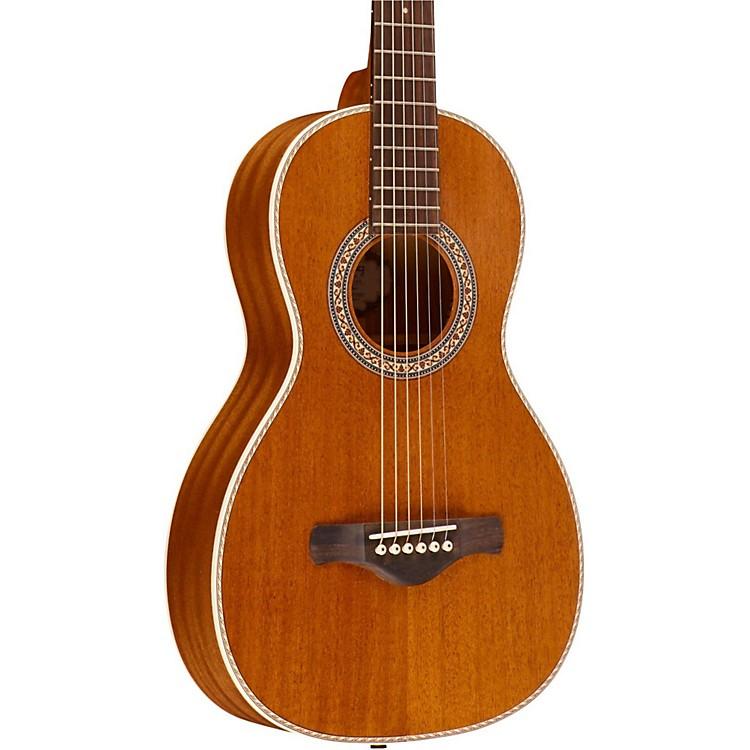 IbanezArtwood Vintage All Mahogany Parlor Acoustic Electric GuitarNatural