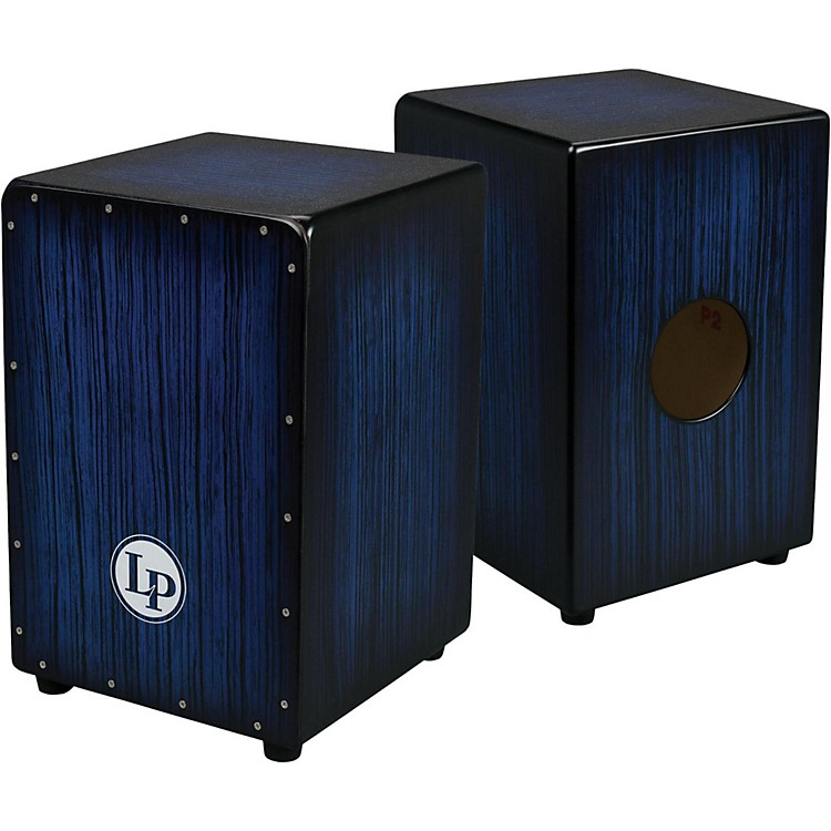 LP Aspire Accents Cajon Blueburst Streak