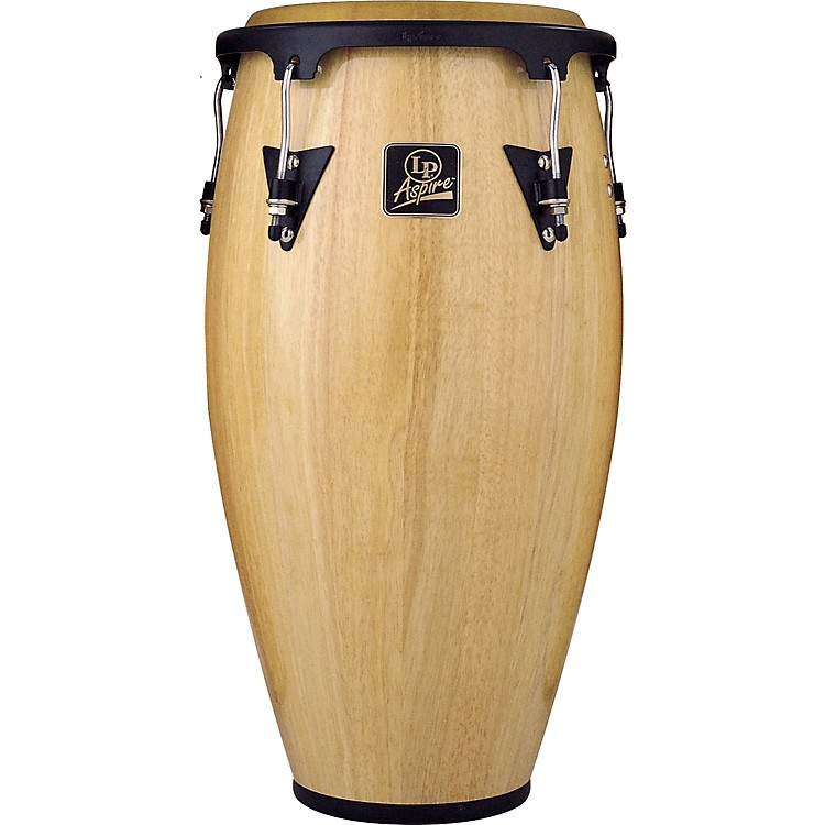 LP Aspire Wood Conga 12 in. Tumba Natural