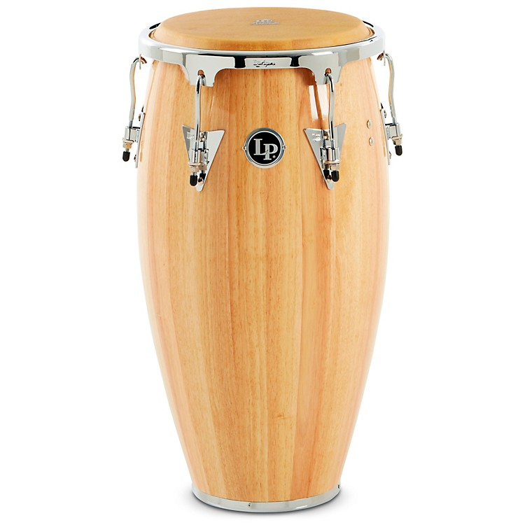 LP Aspire Wood Conga Chrome Hardware Natural 12 in. Tumba