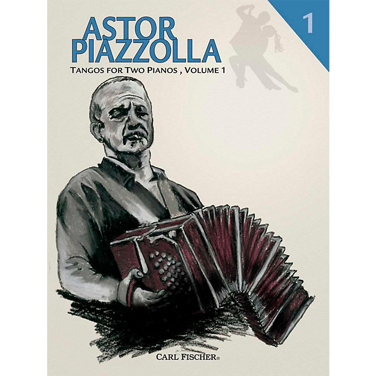 Carl Fischer Astor Piazzolla - Tangos for Piano (Book) For 2, Volume 1