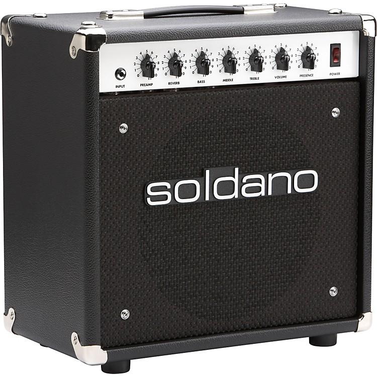 SoldanoAstroverb 112 1x12 Tube Guitar Combo AmpBlack