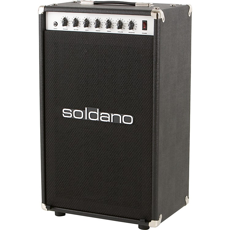 SoldanoAstroverb 16 2x12 Tube Guitar Combo AmpBlackStraight