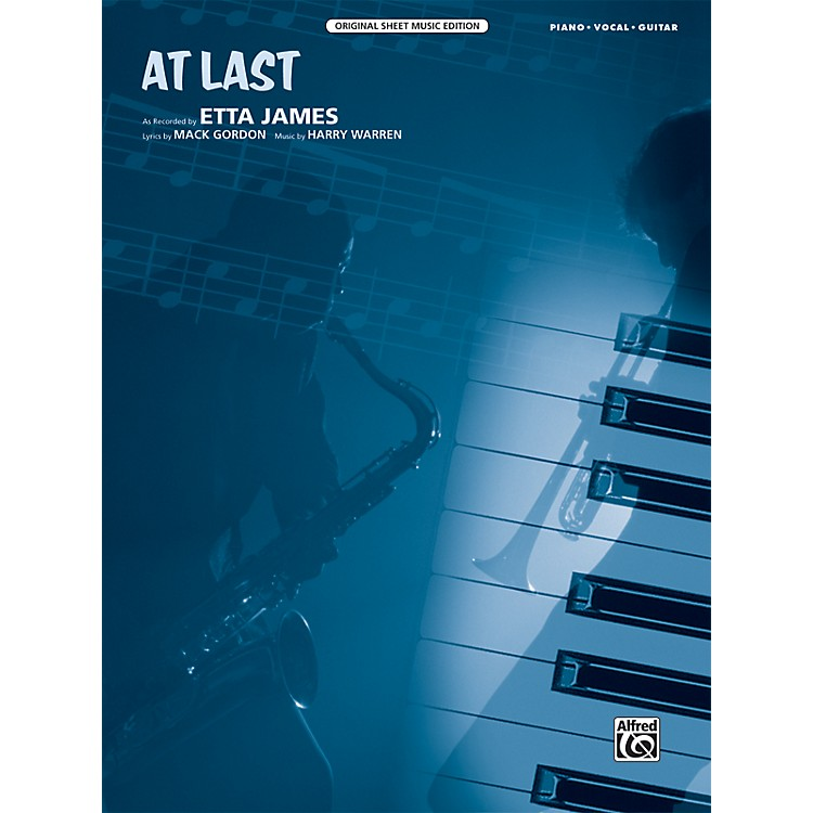 Alfred At Last Original Sheet Music Edition