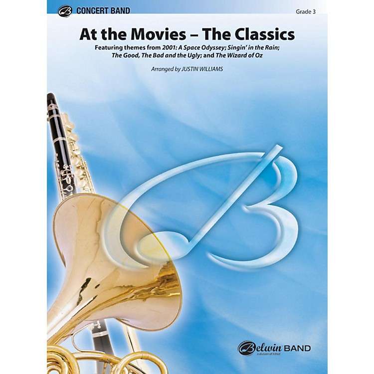 AlfredAt the Movies The Classics Concert Band Grade 3