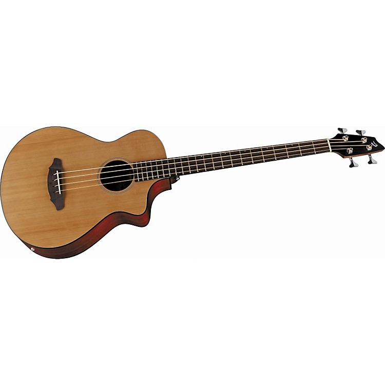 Breedlove Atlas Series Passport B35 Short Scale Concert Bass Acoustic-Electric Guitar Natural