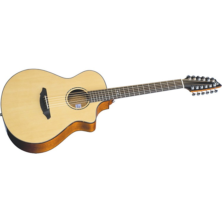 Breedlove Atlas Series Studio C250/SMe-12 12-String Concert Acoustic-Electric Guitar Natural