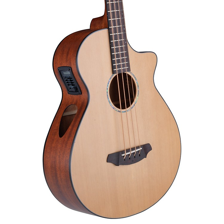 Breedlove Atlas Solo BJ350/CMe4 Acoustic-Electric Bass Natural