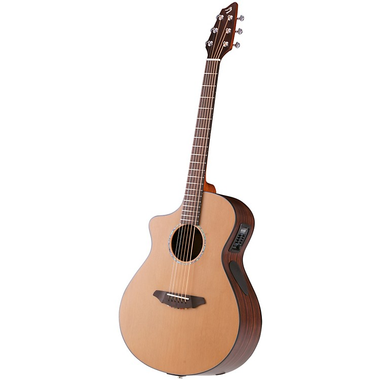 Breedlove Atlas Solo C350/CRe, Acoustic-Electric Guitar Left Handed Natural