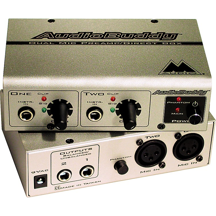M-Audio Audio Buddy 2-Channel Preamp
