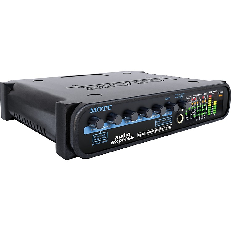 MOTU Audio Express 6 x 6 FireWire/USB 2.0 Audio Interface