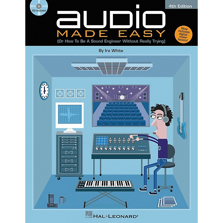 Hal Leonard Audio Made Easy Book and CD - 4th Edition