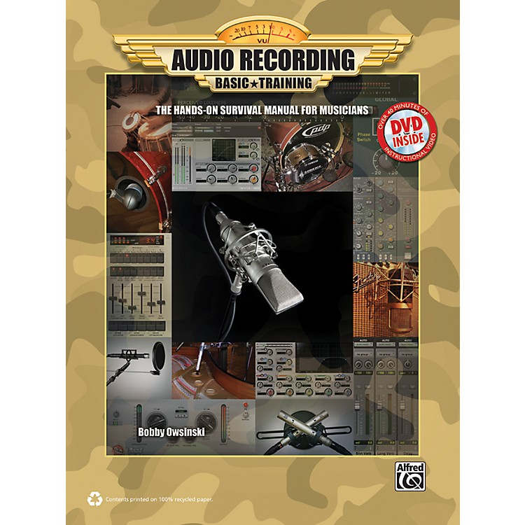 AlfredAudio Recording Boot Camp Book & DVD-ROM