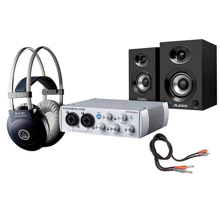 PreSonus AudioBox 2x2 Elevate Package