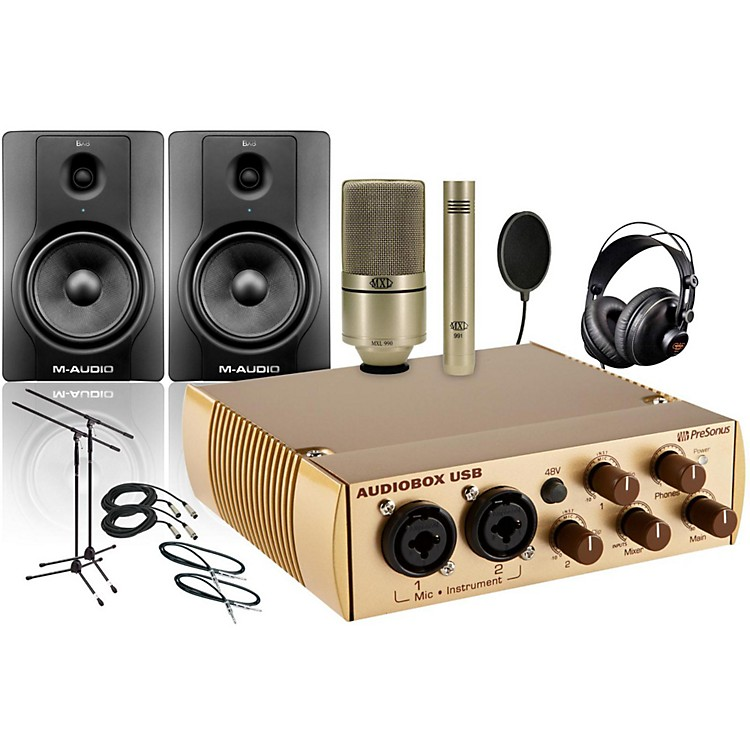 PreSonus AudioBox Gold 990/991 BX8 Package