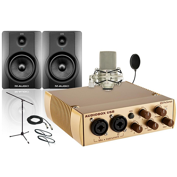 PreSonus AudioBox Gold 990 BX5 Package