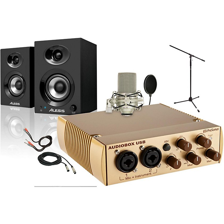 PreSonus AudioBox Gold Elevate 990 Package