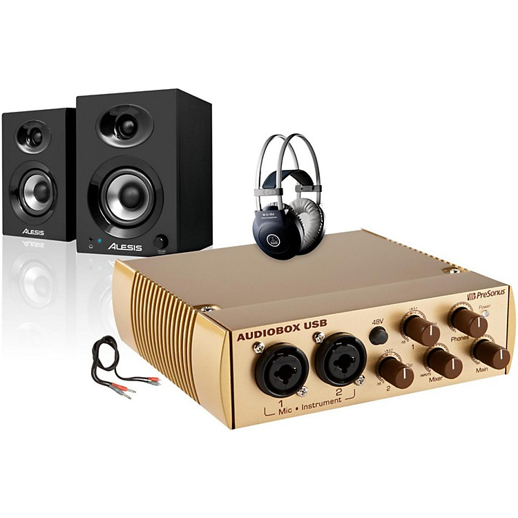PreSonus AudioBox Gold Elevate Package