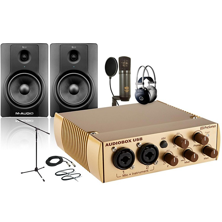 PreSonus AudioBox Gold V63M BX8 Package