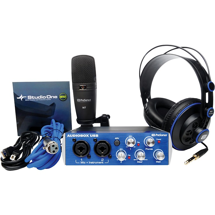 PreSonusAudioBox Studio Recording Bundle