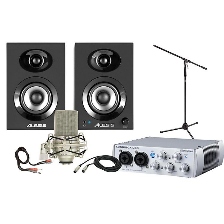 PreSonusAudioBox USB 2x2 Elevate Package
