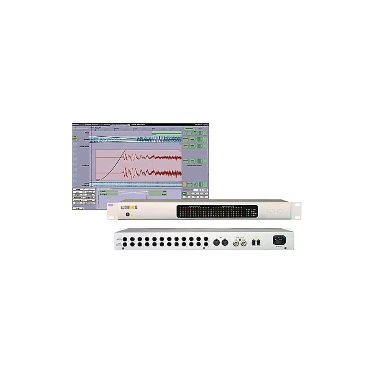 Echo AudioFire12 12-Channel FireWire Audio Interface Hybrid CD Win/Mac