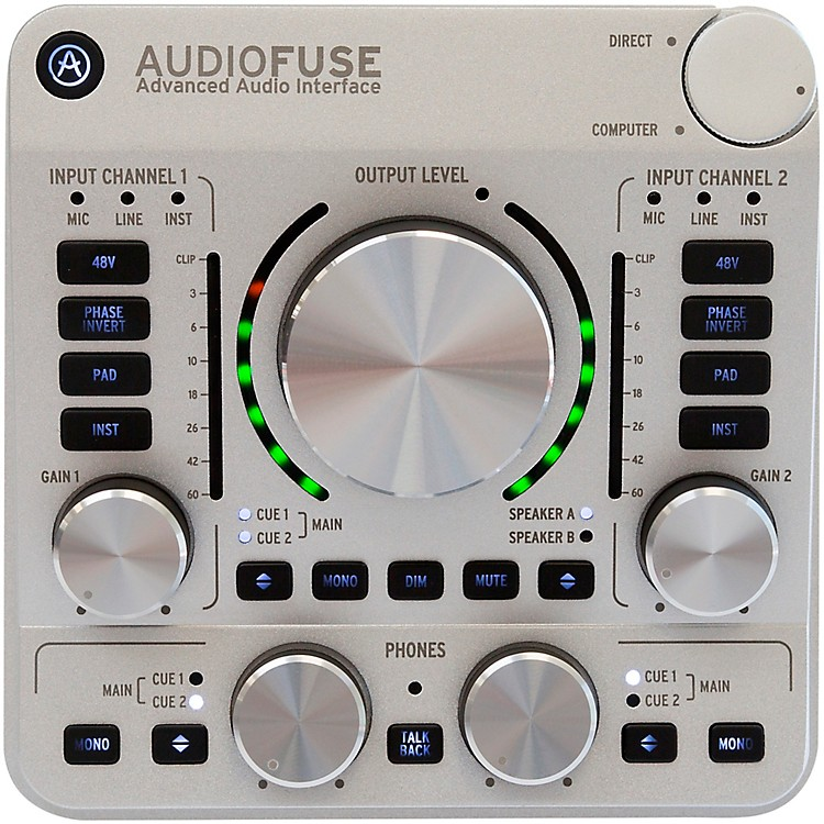 Arturia AudioFuse Audio Interface Classic Silver
