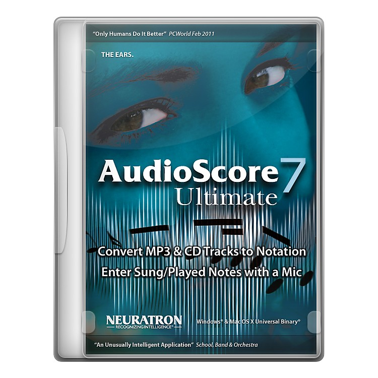 Sibelius AudioScore Ultimate 7