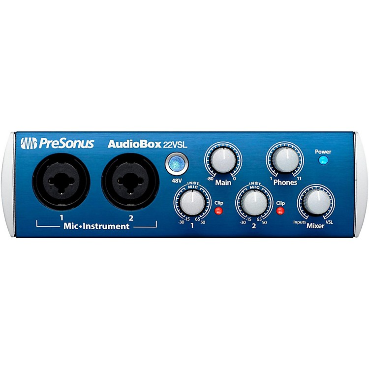 PreSonus Audiobox 22VSL USB 2.0 Recording System