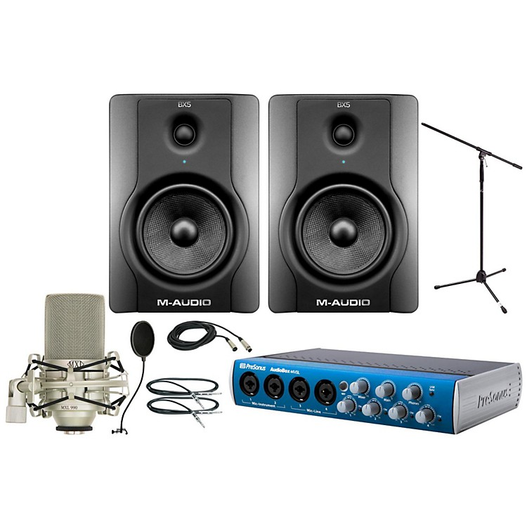 PreSonus Audiobox 44VSL MXL 990 Package