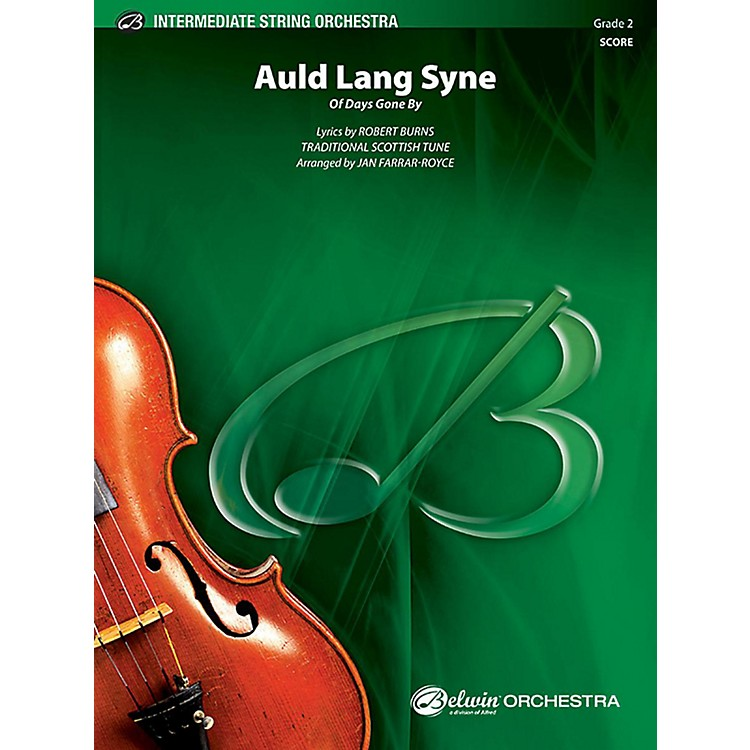 AlfredAuld Lang Syne String Orchestra Grade 2 Set