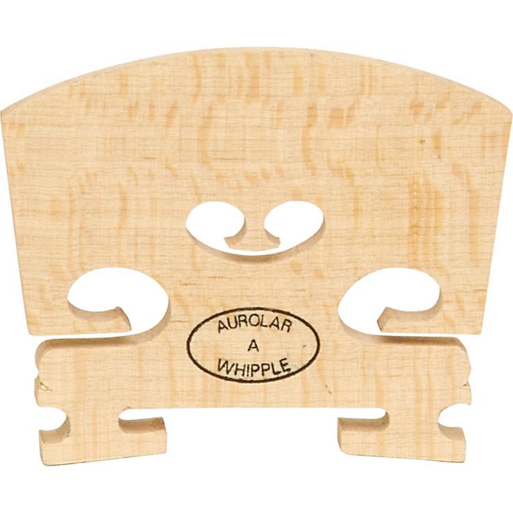 The String CentreAurolar Hard Maple Violin Bridges4/4 Somewhat Flecked